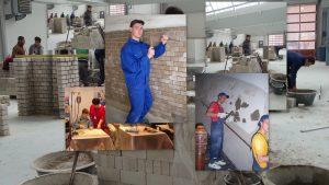 statybininkų-koliažas