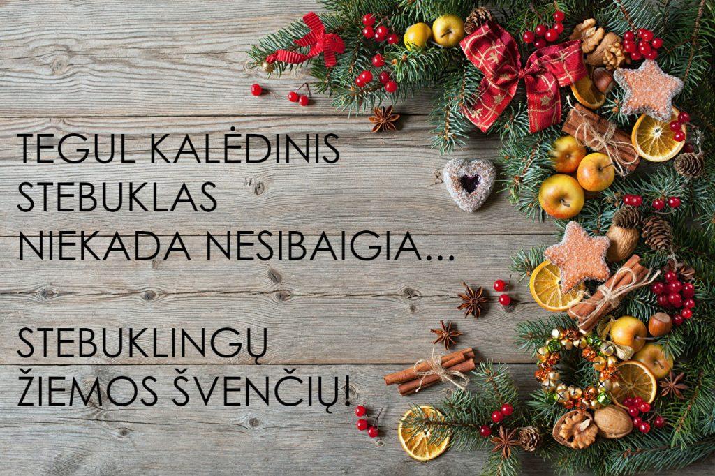 Jau Kalėdos